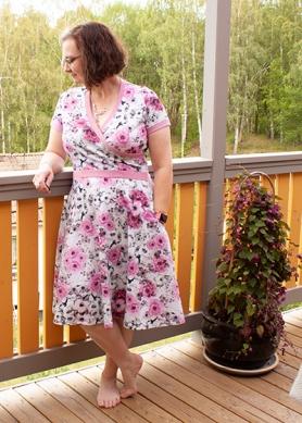 Rosenklänning 1